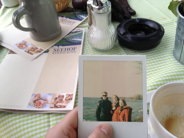 sunday - sun - ammersee - polaroid