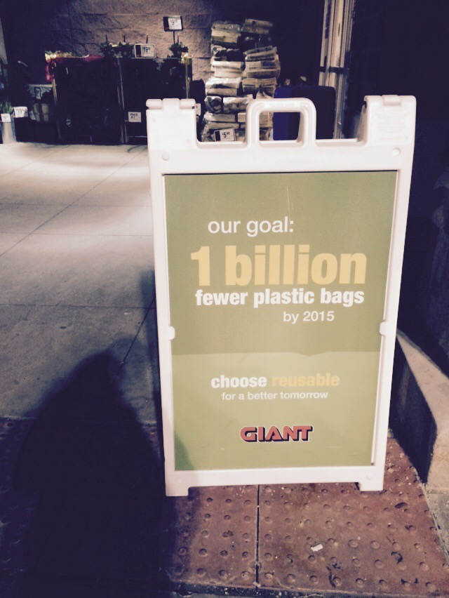 Easton - Giant - plastic bags - waste
