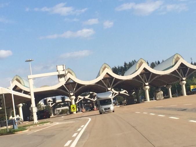 Slovenische Grenze